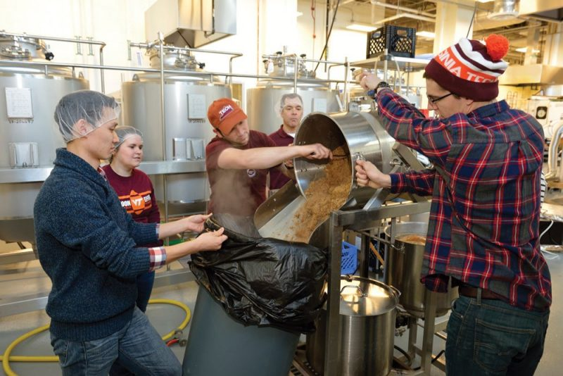 Virginia Tech hops into the farm-to-glass craft beer movement