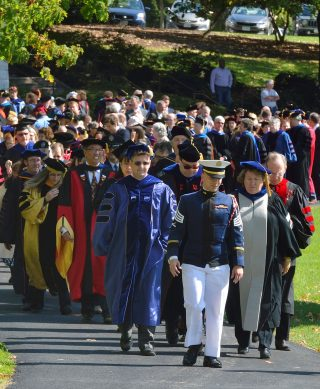 Faculty Procession Photo