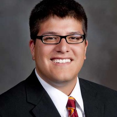 Associate Vice Provost for Enrollment and Degree Management and Director of Undergraduate Admissions, Juan Espinoza