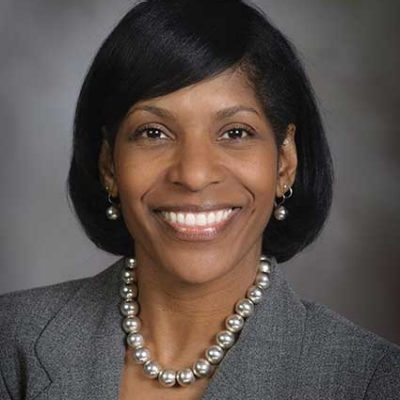 Associate Vice Provost for College Access, Karen Eley Sanders